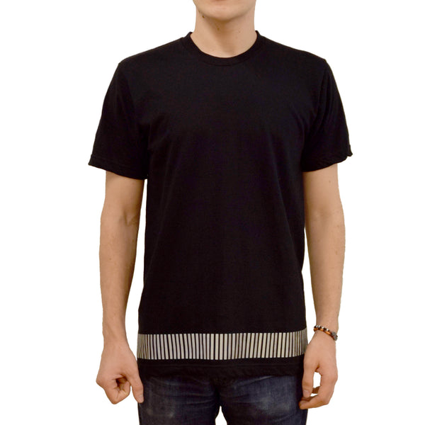 reflective band tee by HEISEL