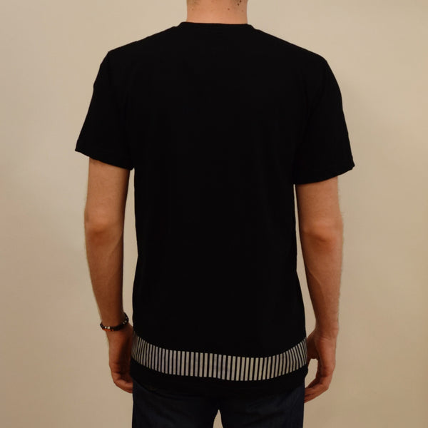 reflective band tee - HEISEL  - 7