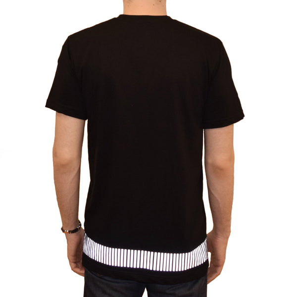 reflective band tee - HEISEL  - 6