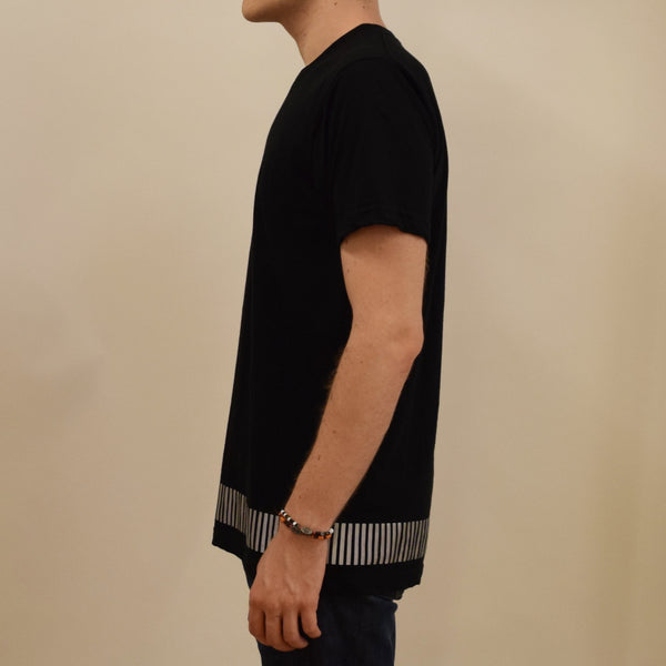 reflective band tee - HEISEL  - 8