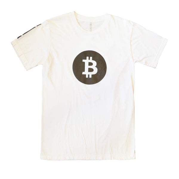 Bitcoin Tee with Black Reflective by HEISEL