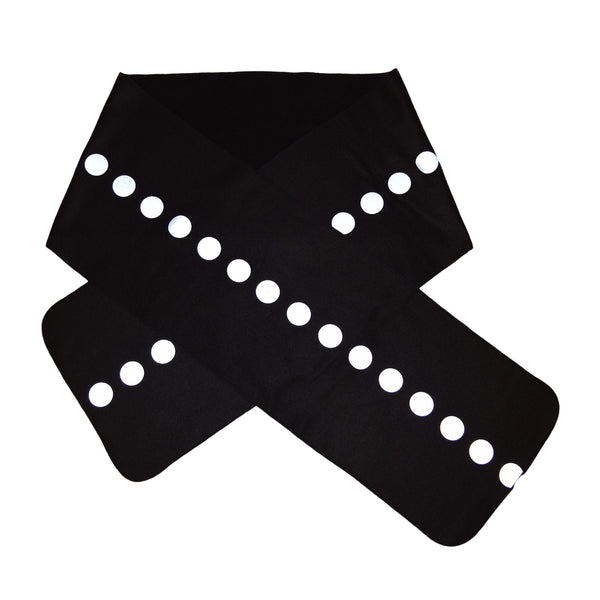 reflective dot scarf - HEISEL  - 2