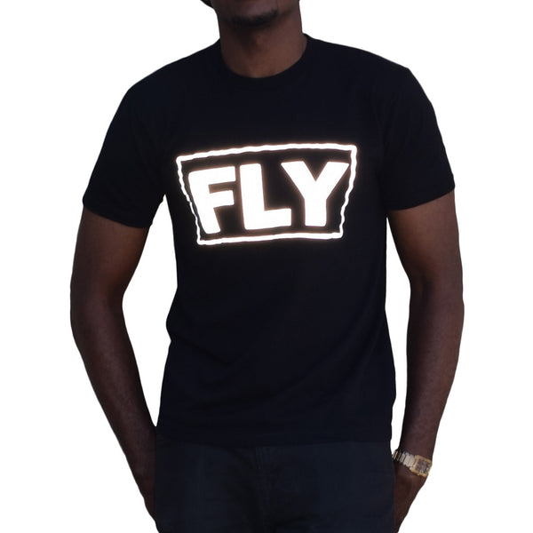 Big Fly tee with 3M reflective by HEISEL