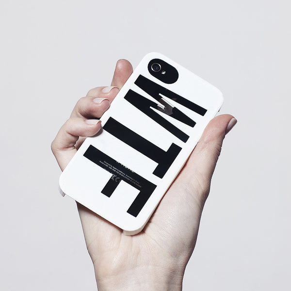 WTF 3D printed iPhone case - HEISEL  - 3