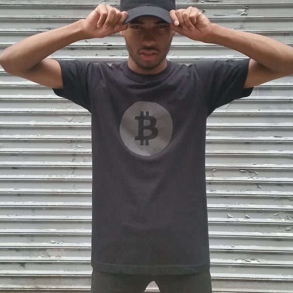 Bitcoin Tee with Black Reflective - HEISEL  - 7