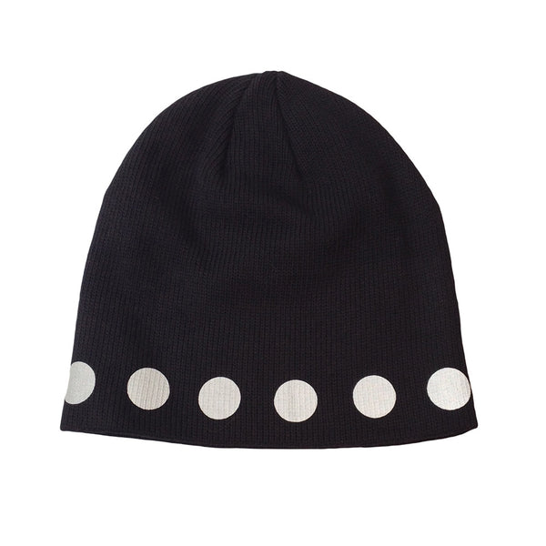 reflective circles watch cap - HEISEL  - 2