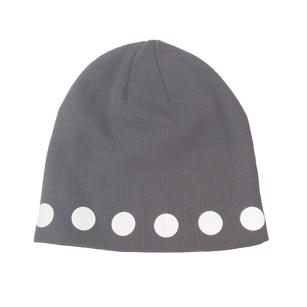 reflective circles watch cap - HEISEL  - 4