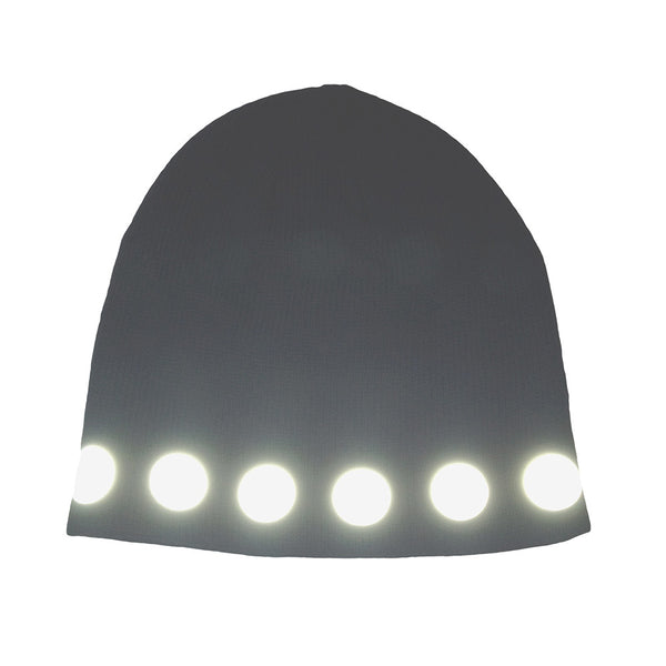 reflective circles watch cap - HEISEL  - 3