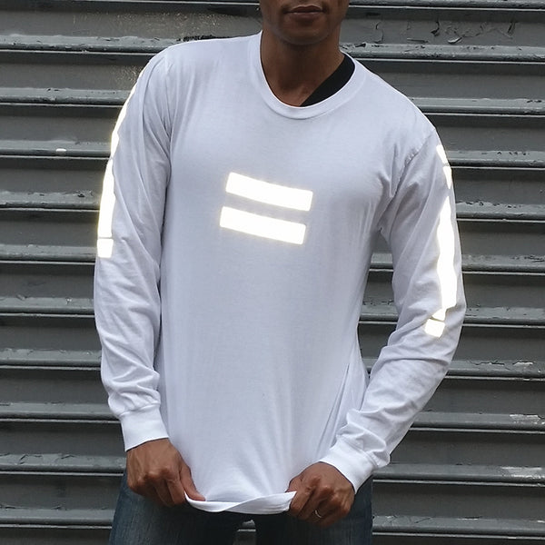 Equanimity long sleeve tee with 3M reflective - HEISEL  - 2