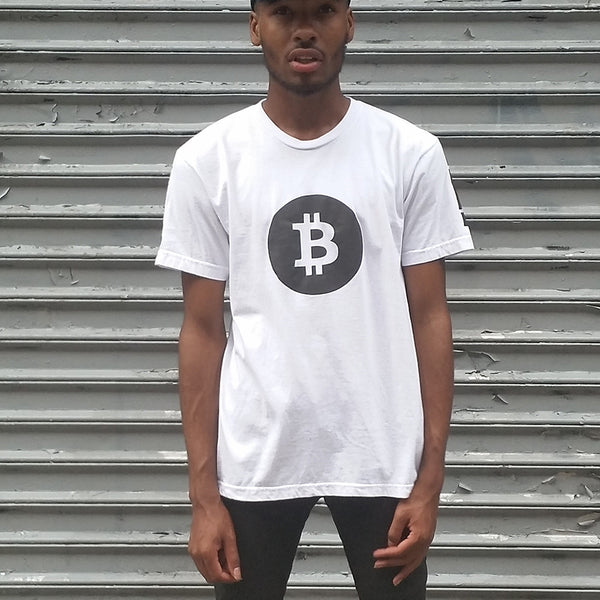 Bitcoin Tee with Black Reflective - HEISEL  - 4