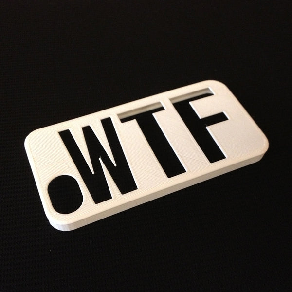 WTF 3D printed iPhone case - HEISEL  - 4