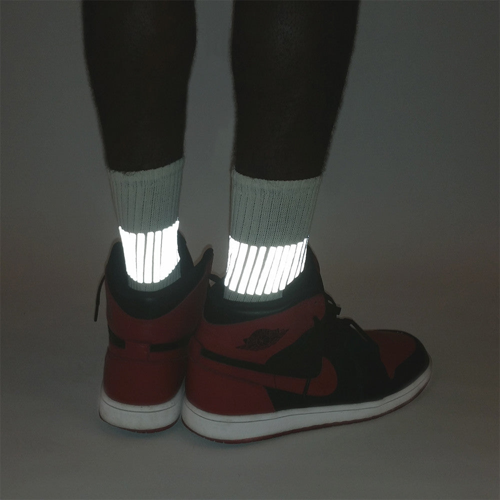 reflective band socks by HEISEL
