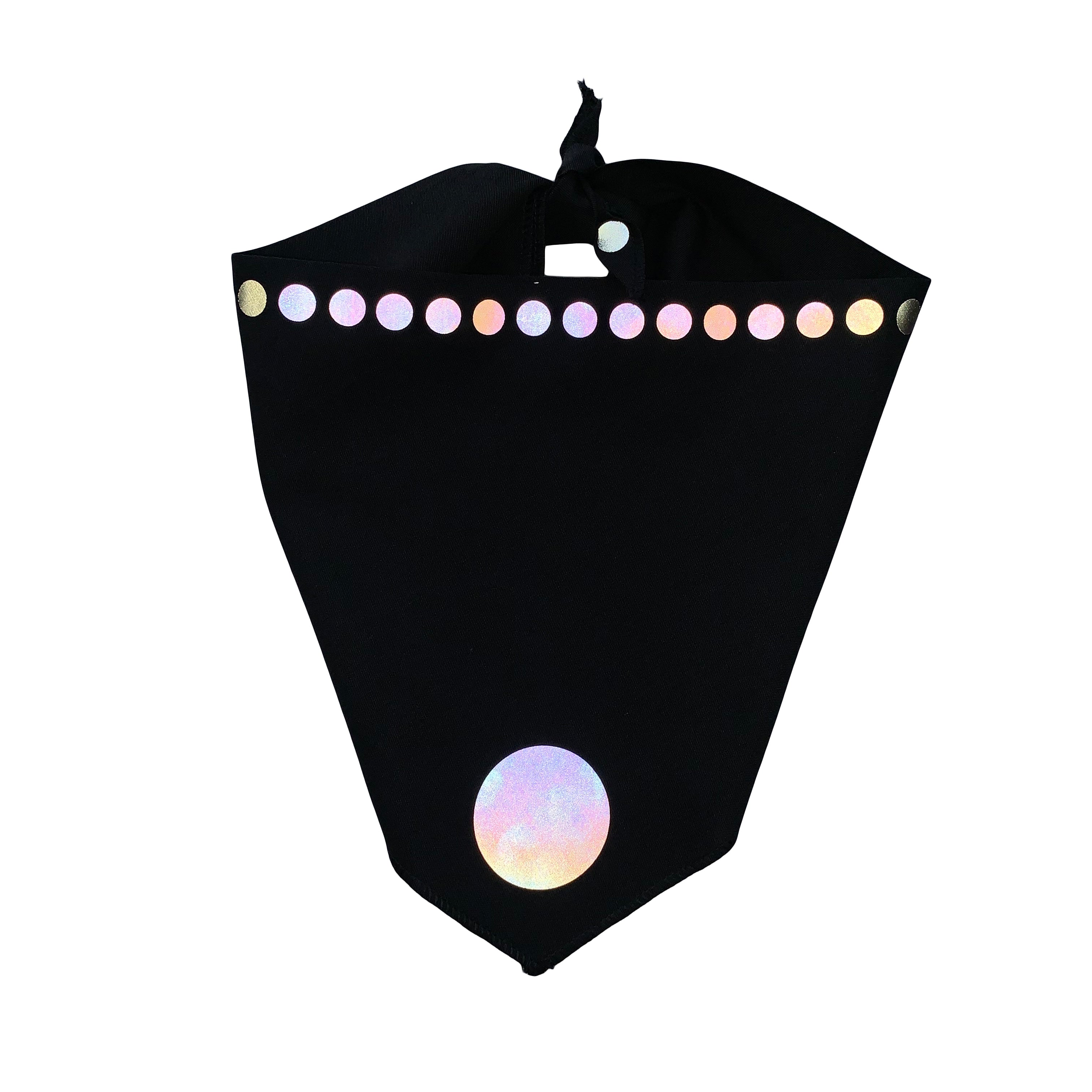Dog Bandana in Organic Cotton with 3M Reflective