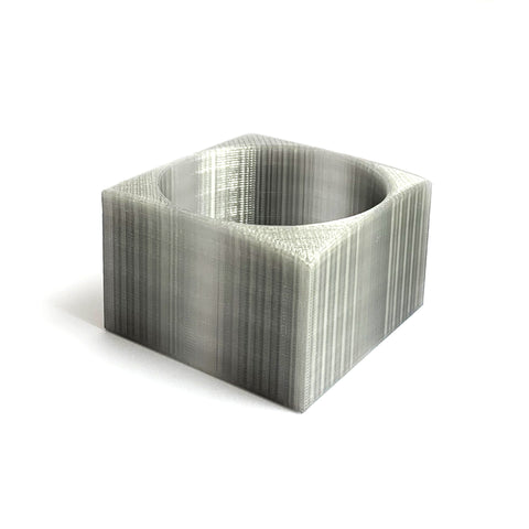 Square Bio-Plastic Bangle by HEISEL