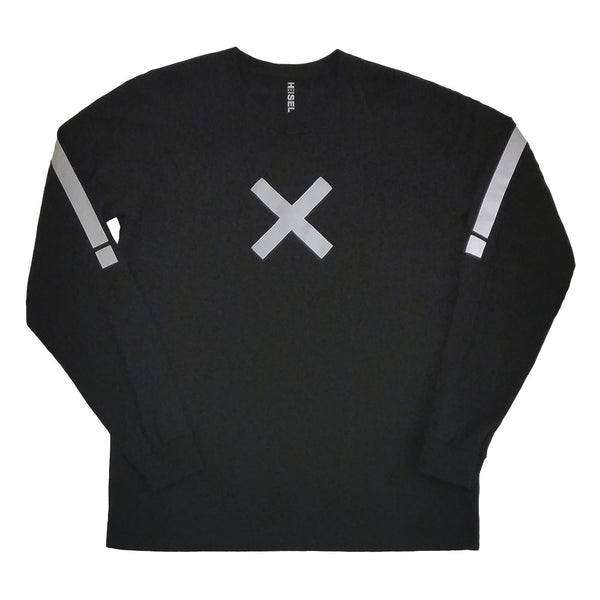 Txmes long sleeve tee with 3M reflective by HEISEL