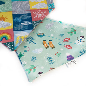 Four Seasons Bandana - Winter - Mint
