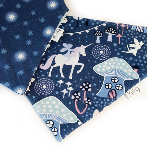 Fairies Unicorns and Stars Glow in the Dark Bandana
