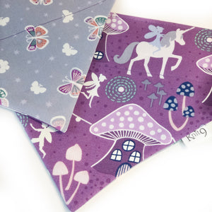 Fairies Unicorns and Butterflies Glow in the Dark Bandana