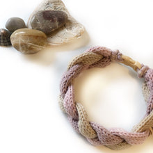 Load image into Gallery viewer, The Knit 9 Twist - Decorative Dog Collar - Pebbles