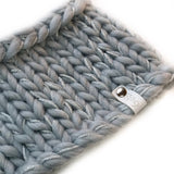 Snood with Sparkle - Blue/Grey