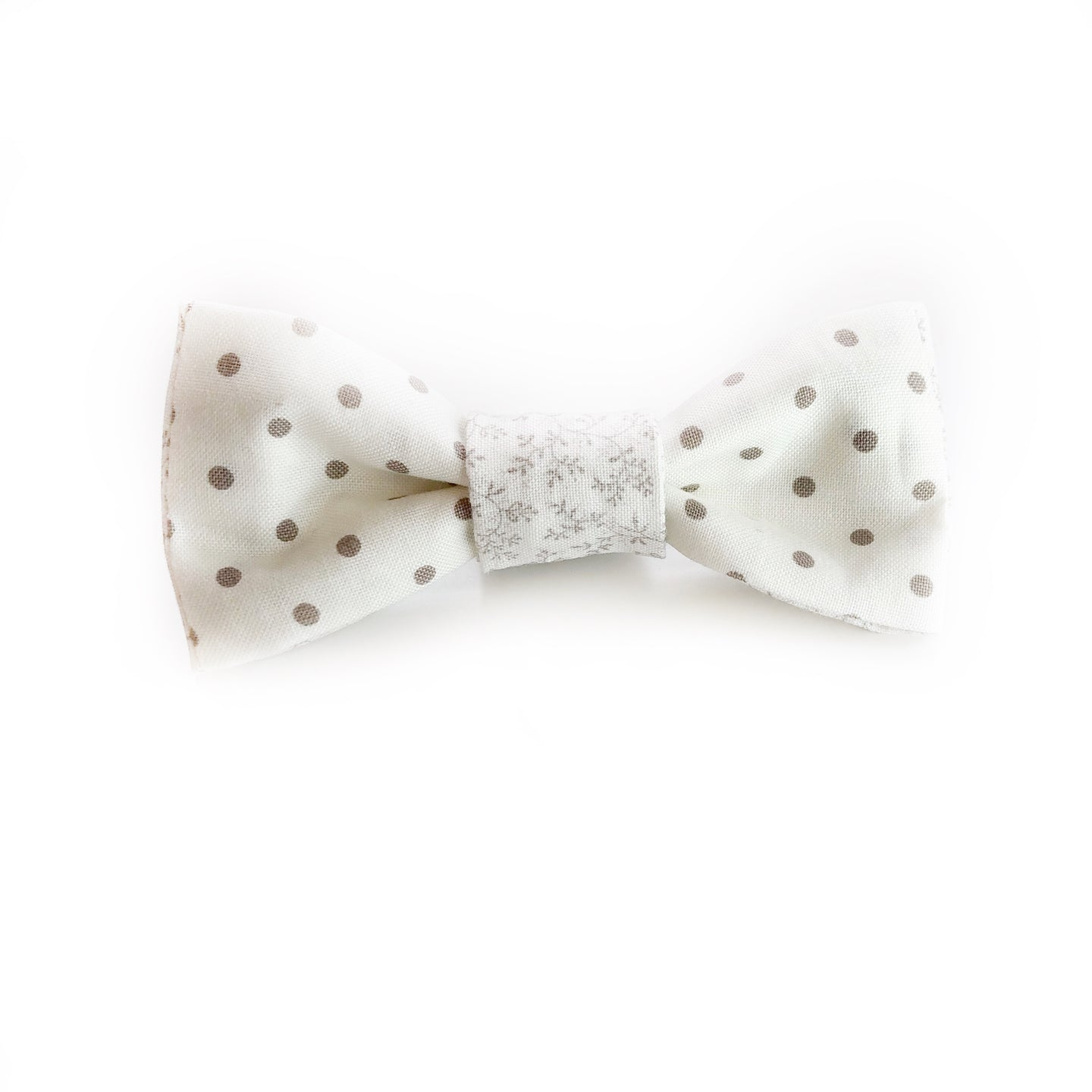 Porcelain Dots Reversible Bow