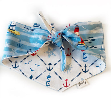 Beside The Sea Knotted Bandana