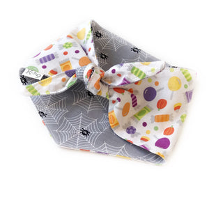 Trick or Treat Knotted Bandana