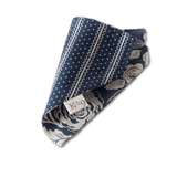 Navy Lace Bandana