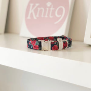 © Knit 9 dog collar