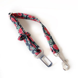 Knit 9 dog seatbelt lead
