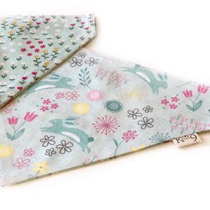 Summer Meadow - Hare Today Bandana - Mint