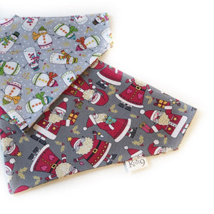 Santa and Snowmen Bandana