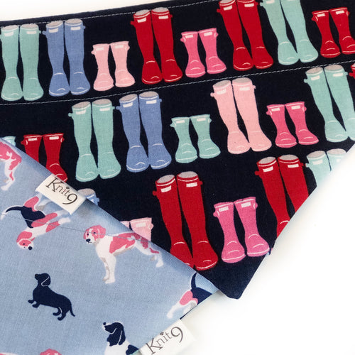 Boots and Dogs Bandana