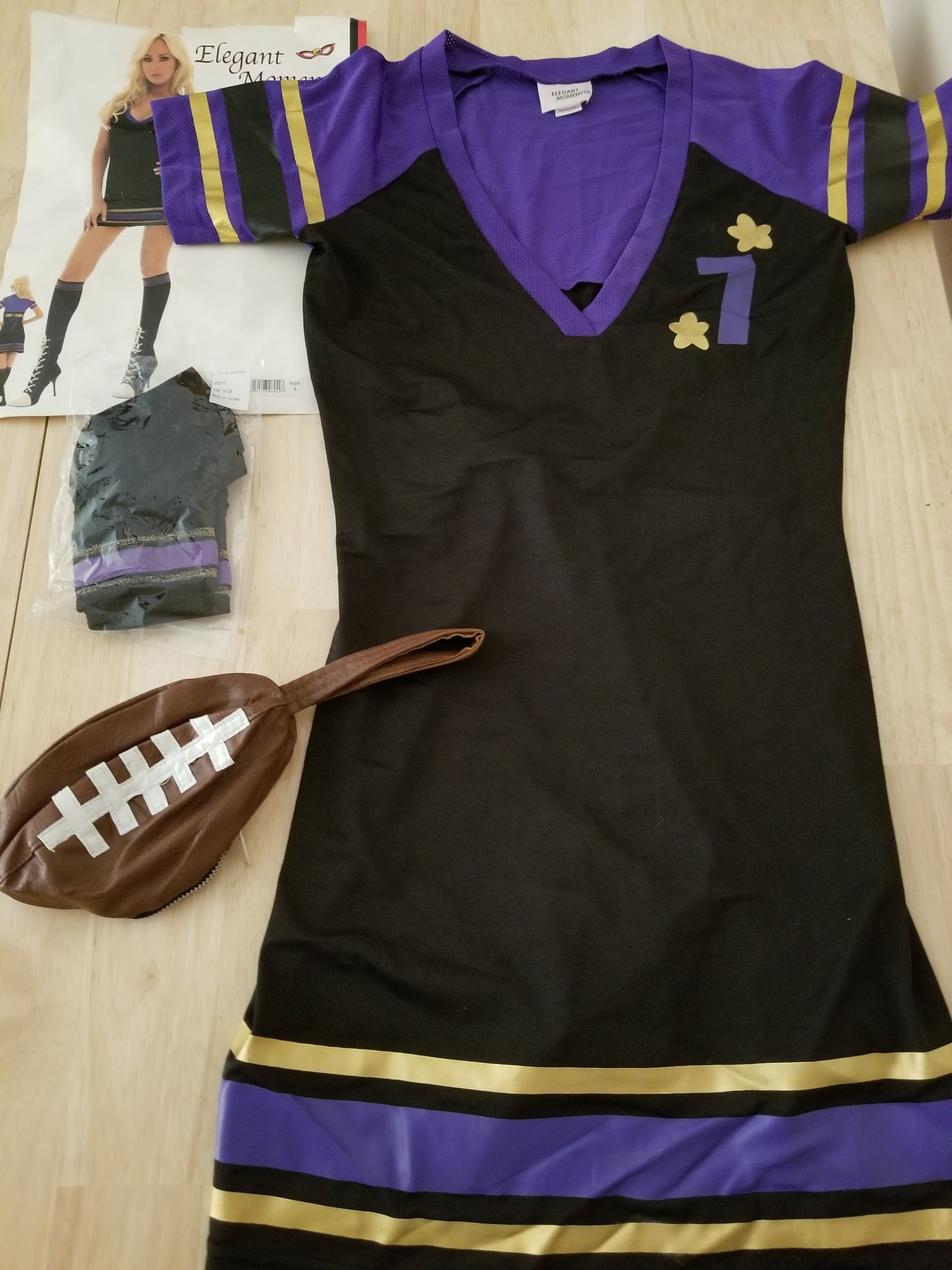 Elegant Moments Size Small Football Outfit
