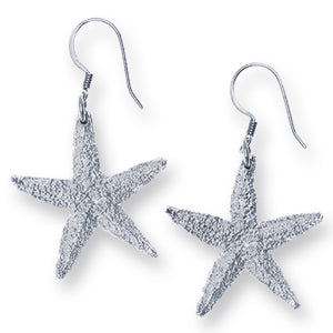 Amos Pewter Starfish Earrings