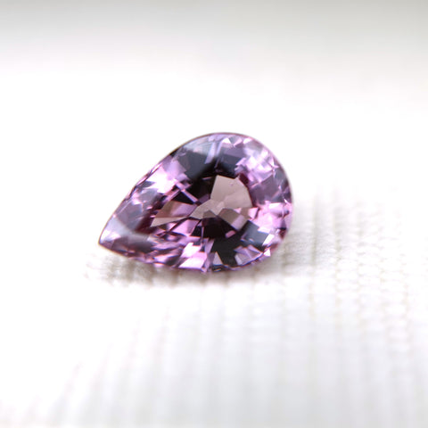 Pear Cut Malaya Garnet Gemstone