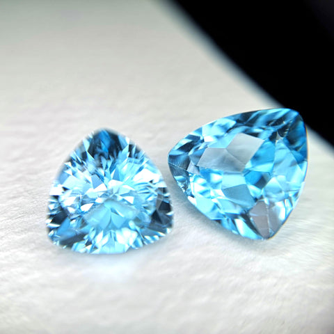 Trillion Topaz Gemstone