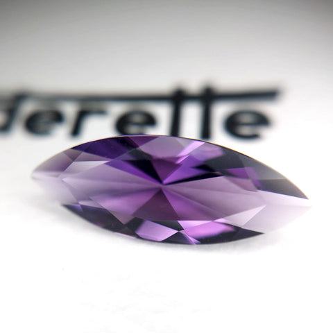 Large Marquise Amethyst Benaderette Fine Jewelry