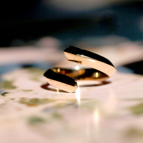 Simple Gold Band Benaderette Fine Jewelry