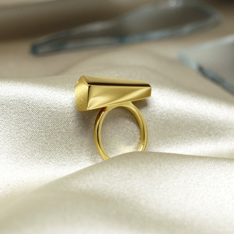 Gold Sturdy Ring