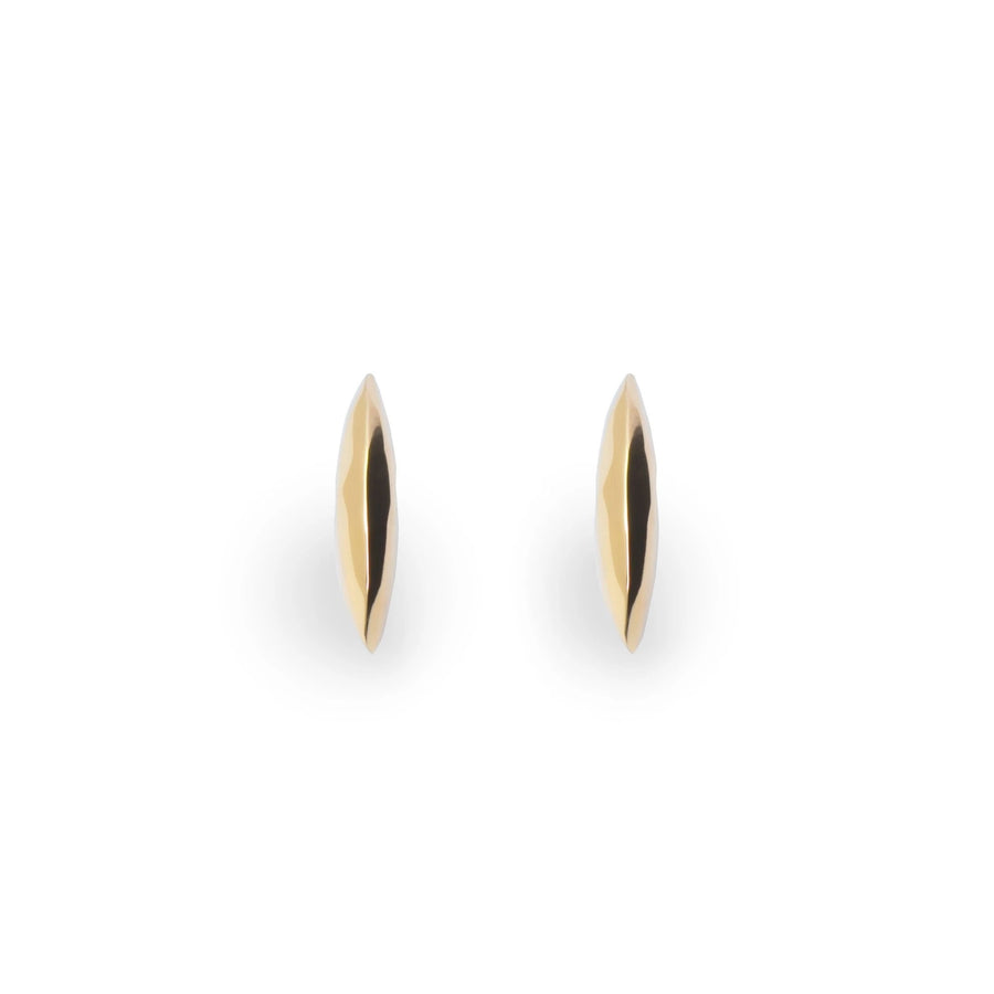 Gold plated silver earrings elegant earrings modern design