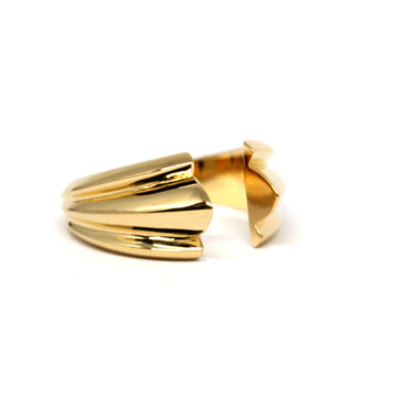 Gold Vermeil Open Ring
