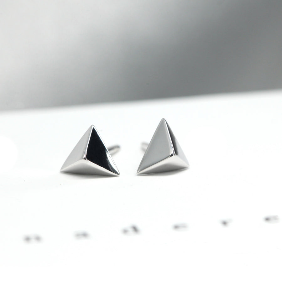 Small Pyramids Second Edition Earrings