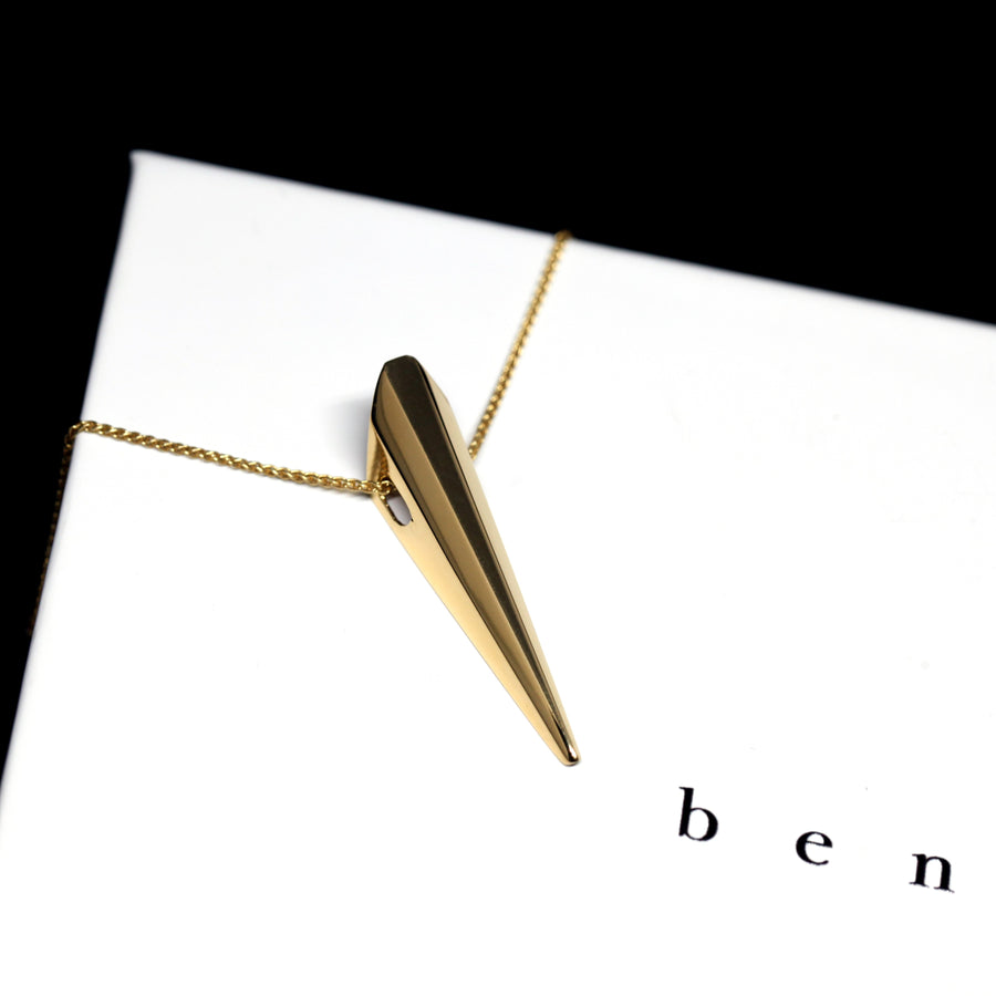 Gold Plated Pike Pendant