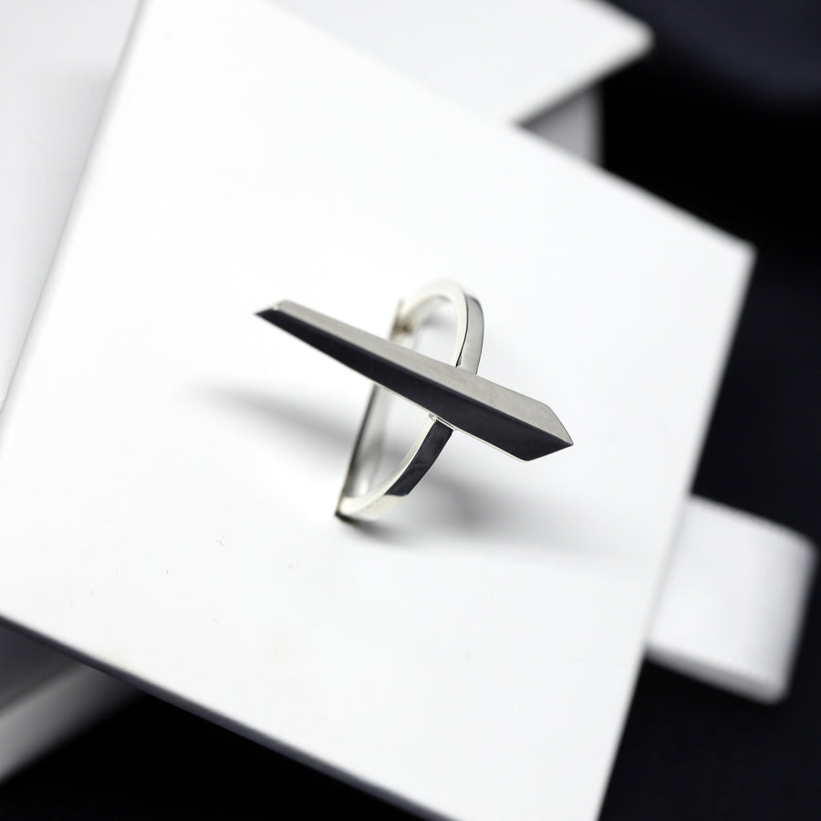 Silver Straight Ring