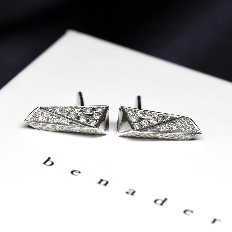 Diamond Pike Earrings - 0.25 ct
