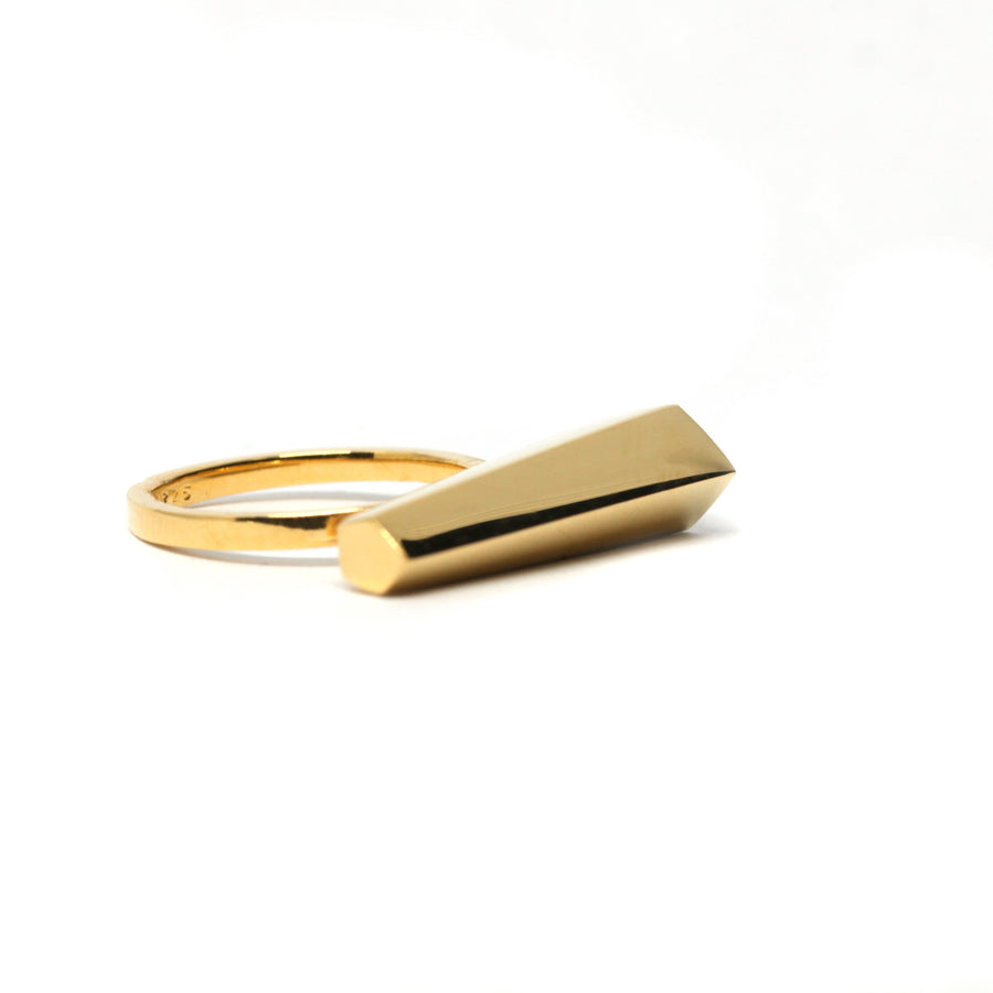 Gold Plated Sturdy Ring
