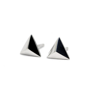 Small Pyramids Earrings