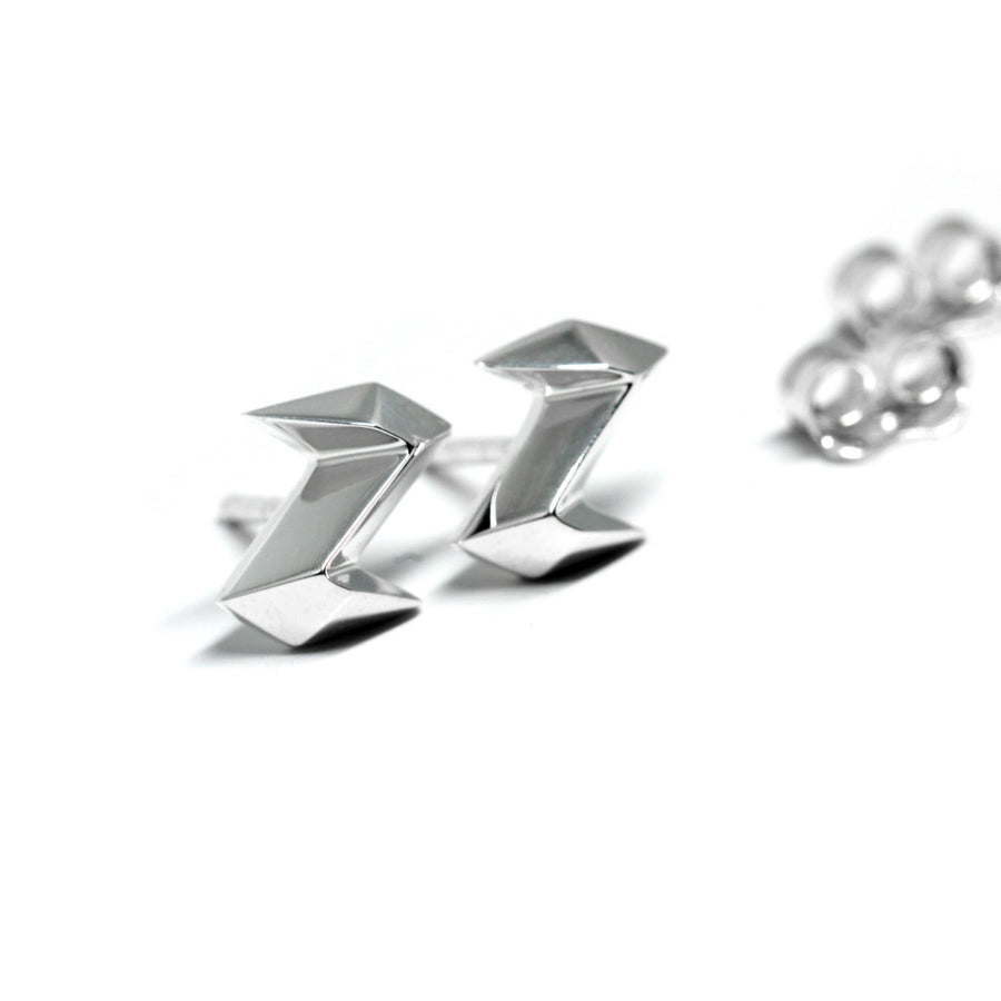 Silver Thunder Earrings