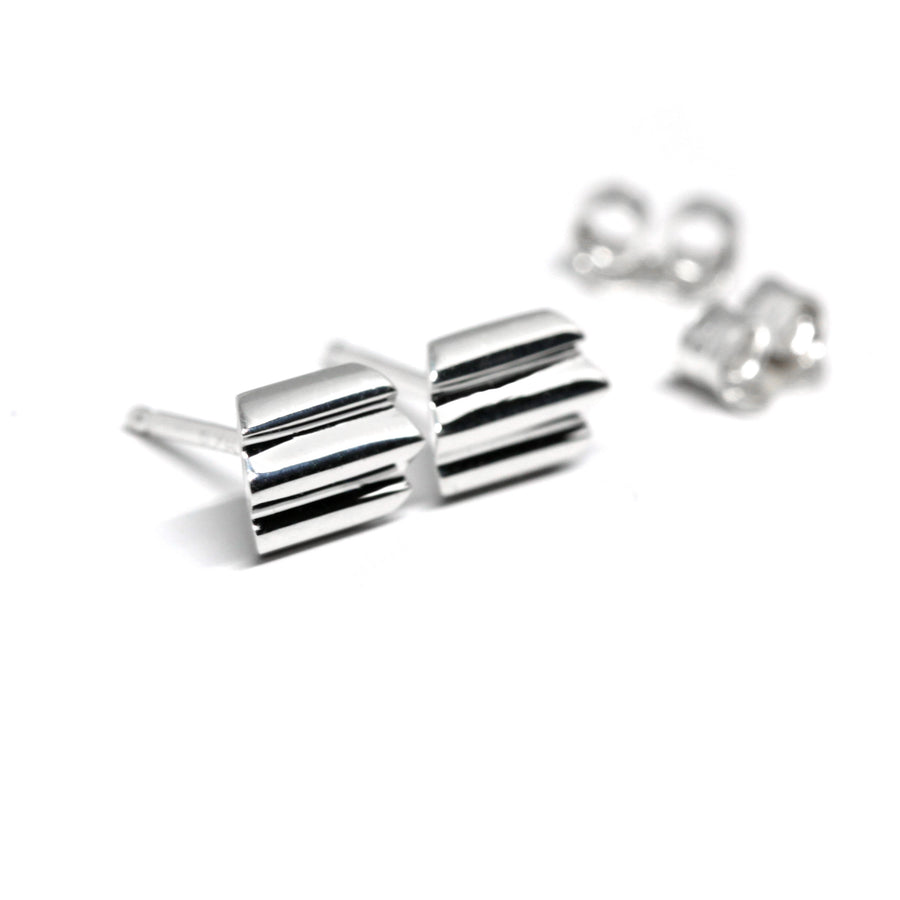 Slick Silver Earrings